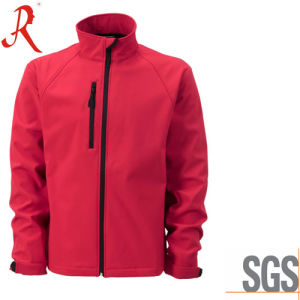 Windproof and Breathable Softshell Jacket with High Quality (QF-4117) pictures & photos