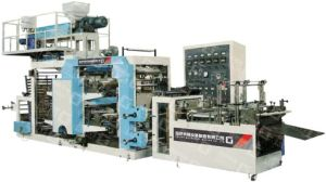 New Design Film Blowing&Printing&Bag Making Machine Unit pictures & photos