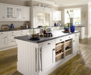 New Design White Wooden E1 Europe Standard Kitchen Cabinet#276 pictures & photos