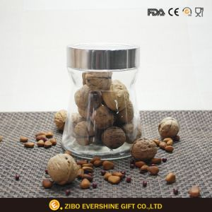 Custom Logo Food Storage Container Glass Jar pictures & photos
