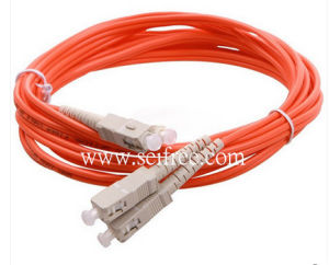 Multi Mode Sc-Sc Connector Fiber Optic Cable pictures & photos