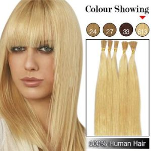 Pre-Bonded Micro-Ring Loop Straight Remy Human Hair Extension (BD-11072516)