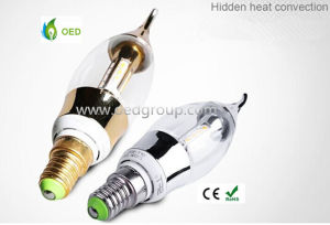4W SMD4014 LED Pull The Tail Bubble LED Candle Lightings with 2 Years Warranty pictures & photos