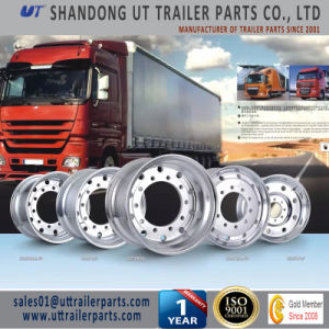 8.25X22.5 Truck Trailer Aluminum Alloy Wheel Rims Forged Type pictures & photos