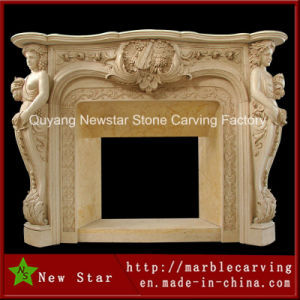 Decorative Stone Fireplace, Marble Fireplace, Cheap Fireplace (NS-1209) pictures & photos
