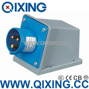 Economic Type Wall Mounted Plug for Industrial Application (QX-332) pictures & photos