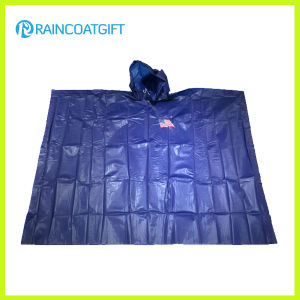Clear Cheap Disposbale PE Poncho pictures & photos
