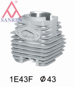 Chrome-Plated Cylinder For Small Gas Engine (1E43F) pictures & photos