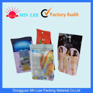 High Quality Printed Stand up Food Pack Resealable Plastic Zipper Bag pictures & photos