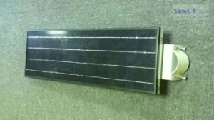Galvanized Iron Frame 30W Integrated Solar Panel Powered Street Lights pictures & photos