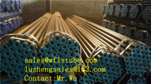 ASTM A106 Gr. B Seamless Steel Pipe, Smls Line Pipe, Erwblack Line Pipe pictures & photos