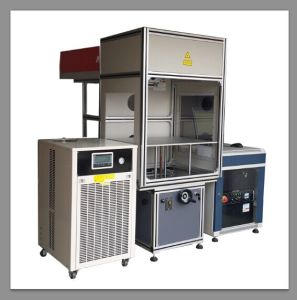 China CNC Laser Marking Machine for Rubber Stamp