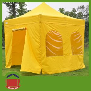 Folding up Tent with Rolling up Door pictures & photos