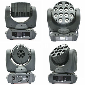 12PCS 12W RGBW 4 in 1 LED Moving Head Light pictures & photos