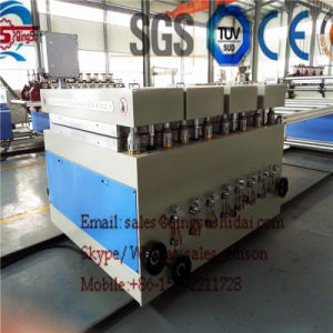 PVC Bathroom Cabinet Board Production Line pictures & photos