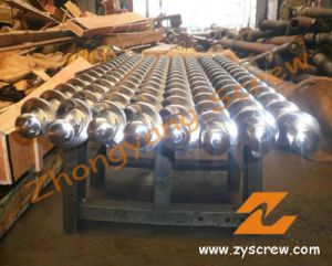 Rubber Machine Nitrided 38crmoala Screw Barrel pictures & photos