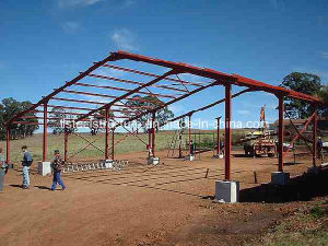 Prefabricated Steel Structure Roof Frame Building pictures & photos