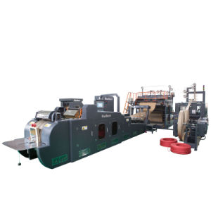 Kraft Sos Paper Tape Handle Bags Machine (WFD-430B) pictures & photos