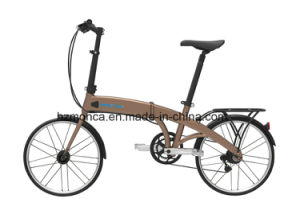 Uarban Folding Electric Bike Foldable E Bicycle E-Bike 350W Rear Motor Brushless 8fun 100km pictures & photos
