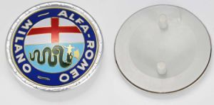 Alfa Romeo Milano Customized Car Badge (BD023)