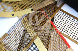 Bullnose Joint Teflon Coated Open Mesh Conveyor Belt pictures & photos