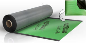 Self-Adhesive HDPE Roofing Membrane Type Self-Adhesive Roofing Felt pictures & photos