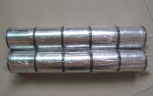 Silver Color M-Type Metallic Yarn pictures & photos