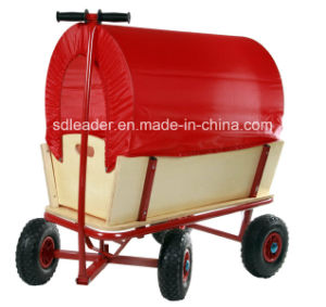 China Supplier of Baby Wooden Tool Cart (TC1812M)