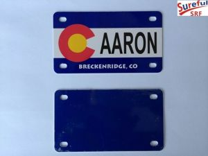 Name License Plate/Name Plate 9/4X4 Inches pictures & photos