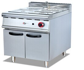 Gas Bain Marie with Cabinet (GH-784) pictures & photos