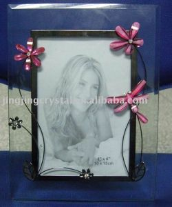 Hot China Supply Crystal Glass Photo Frame (JD-XK-034) pictures & photos