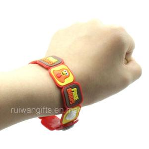 Fashionable Promotion Soft PVC Bracelet (BR002) pictures & photos