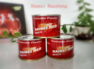 70g*100 18%-20% Canned Tomato Paste pictures & photos