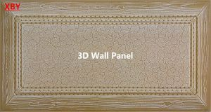 Acoustic Panel Wall Title Wall Cladding Decorative Panel 600*600 3D Wall Panel pictures & photos