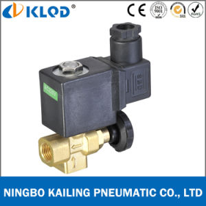 Kltj-08 Brass Material Adjustable Mini Steam Solenoid Valve pictures & photos