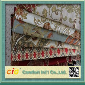 Hot Sale 100% Polyester Jacquard Fabric for Sofa pictures & photos