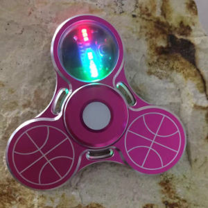 Metal Hands Spinner with Light Could Turn 3 - 5 Mins pictures & photos