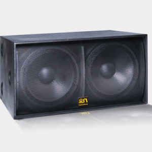 B-218 Dual 18 Inch Sub Bass 1600W Passive Subwoofer Speaker pictures & photos