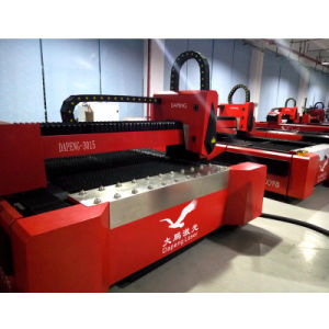 1000W Fiber Laser Cutter for 3mm Electrolytic Zinc-Coated Steel Sheet (N2) pictures & photos