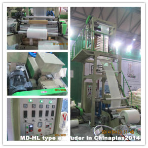 Cheap HDPE Plastic Film Extruder Price China pictures & photos