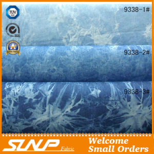2016 Summer Denim Tie-Dye Fabric for Garment