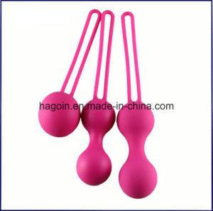 Stock Medical Grade Silicone Rubber Kegel Egg for Virgina Exercise, Verigina Tigher pictures & photos
