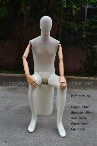 Vintage Mannequin Wooden Arm Mannequin Linen Cover Mannequin pictures & photos