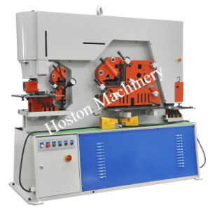 Double Cylinder Hydraulic Universal Iron Worker