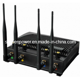 Adjustable Cell Phone and WiFi Jammer with Four Bands pictures & photos
