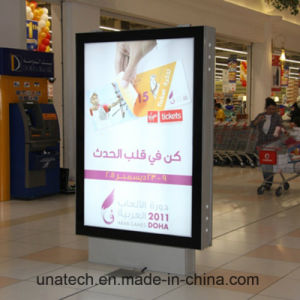 Outdoor Advertising Media LED Stand Free Mupi LED Light Box pictures & photos