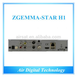 Zgemma-Star IPTV HD Receiver Zgemma-Star H1 Satellit Receiver HDTV PVR pictures & photos