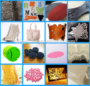 Leather CO2 Laser Cutting Machine pictures & photos