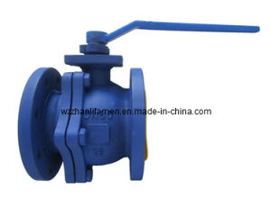 DIN Cast Steel 2-PC Ball Valve (Q41F) pictures & photos
