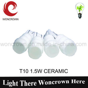 T10 1.5W Ceramic Hot Automotive LED Lighting pictures & photos